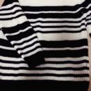 ボーダーのセーター