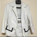 ロング白スーツ