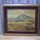 インテリア画 ロバートウットの山麓の春 昭和53年