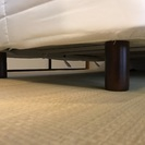無印 脚付マットレス スモールサイズ - 家具