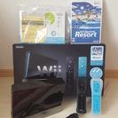 【美品】Wii本体フルセット(リモコン2個)+スポーツリゾート他