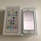 新品同様 iPhone5s au 16GB シルバー 開通のみ a...