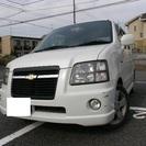 H18 シボレーMW 車検2年付きH29税込 ナビ ワンセグ 10790