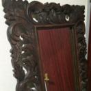 バリ島家具 高級鏡 立て掛け式  アジアンミラー  - 家具