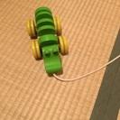 プラントイ 木のおもちゃ ワニ PLAN TOY