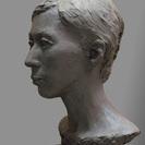 青土社彫塑研究会  (粘土でモデルを見ながら造形していきますー彫塑...
