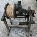 縄を編む機械 古道具