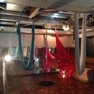 エアリアルヨガ  フープ  ポールダンスのスタジオです