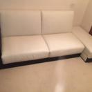 白のソファベッド(美品)