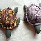 布製亀の置物
