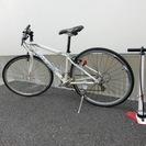 自転車 ルイガノ製クロスバイク 空気入れ付き