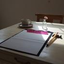 カフェde書道  素敵なカフェでほっと一息、書道を楽しみませんか?の画像