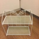 お値引き‼︎折りたたみ可能 2段ラック