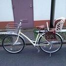 【東京都国立市】チャイルドシート付き自転車をお譲りします。