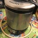 プロパンガス用炊飯器・保温機能付き
