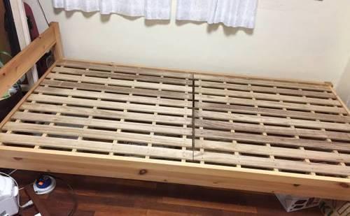 江戸川区引き取り限定無印良品シングルベッド
