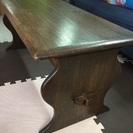 西海岸風のお部屋づくりにも。ヴィンテージ、イギリスのセンターテーブル。