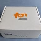 fon Wi-Fiルーター 無線LAN  Wi-Fiで快速インターネット