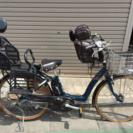 【ジャンク】ブリジストン 3人乗り電動アシスト自転車BA6L60