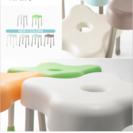 美品✩レボルク シャワーチェア Lサイズ ホワイト
