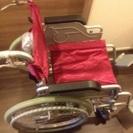 問合せ数件あり。折りたたみ車椅子