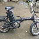 電動自転車(アクセル付、フル電動)
