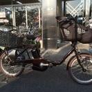 パナソニック電動自転車 ギュットミニDX ビターブラウン BE-E...