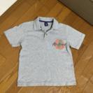 ギャップキッズ  M  ポロシャツ   グレー  130