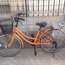 新品 子供乗せチャイルドシート付き自転車 前乗せ 後ろ乗せ