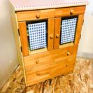 ミニ食器棚 LC030431