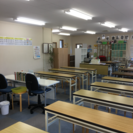 公文式教室での採点と指導補助