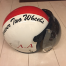 バイクのジェットヘルメット