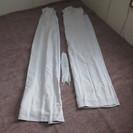 アイボリーホワイト 遮光カーテン 未使用 178cm×100cmく...
