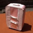 【お話し中】かわいいピンクスーツケース 0円で 使用品なので訳あ...