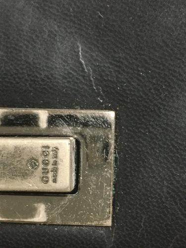 c2a52268784d グッチ GUCCI サイフ 財布 皮 黒 ブラック 男性用 ヴィンテージ ...
