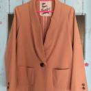 サーモンピンク ジャケット