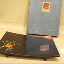 【JZ42】札幌 工芸品 秀衝塗 丸三漆器◆盛り合せ皿 未使用 ...
