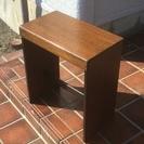 木製ピアノ椅子〔オルガン〕