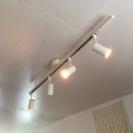 無印 システムライト スポットライト×4の画像