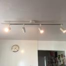 無印 システムライト スポットライト×4 - 家電
