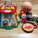 ☆商談完了☆アンパンマン☆よくばりボックス&お人形たち