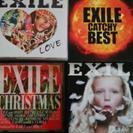 EXILEアルバム&シングル 4枚セット