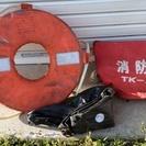 救命浮環・消防用バケツ・黒球 船検 船舶 ボート