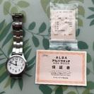 ★セイコーALBAのメンズ向け腕時計