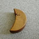 三日月型 木製 小物入れ
