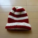 手編みのニット帽
