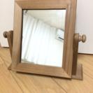 断捨離sale‼️木製スタンドミラー 卓上