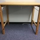 【折りたたみ式】木製テーブル