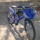 自転車とヘルメット(小学生男の子用)