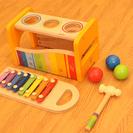 Hapeハペ 木製おもちゃ コロコロ鉄琴
